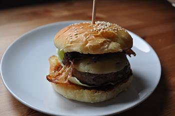 burger recept