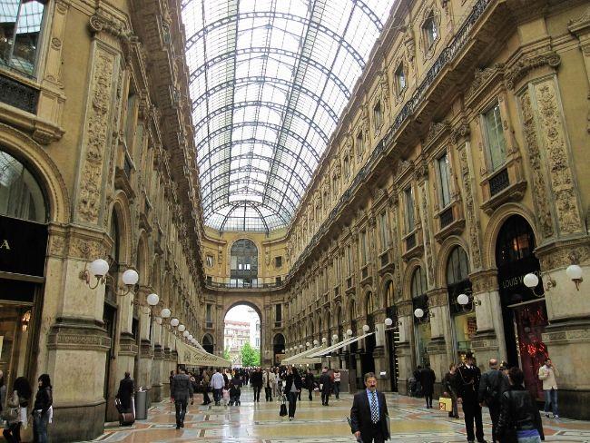 Galleria Vittorio Emanuele II, Milano