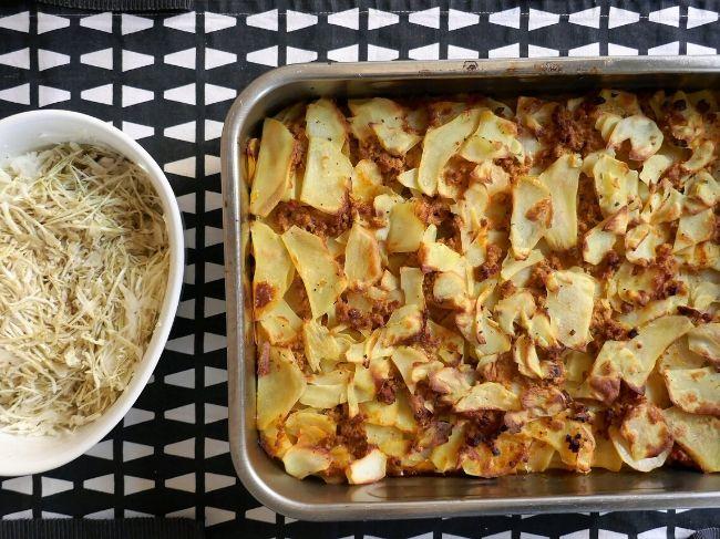 krompirjeva musaka recept