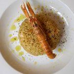 recept za rižoto s škampi
