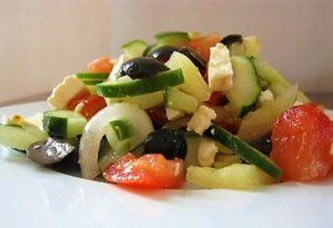 grska solata recept