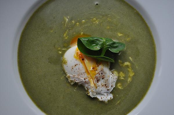 špinačna kremna juha