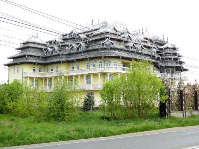 Vila bogatega romunskega Roma